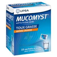 Mucomyst 200 Mg Poudre Pour Solution Buvable En Sachet B/18 à SAINT-PRYVÉ-SAINT-MESMIN