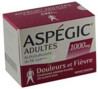 Aspegic Adultes 1000 Mg, Poudre Pour Solution Buvable En Sachet-dose 15 à SAINT-PRYVÉ-SAINT-MESMIN