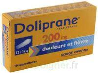Doliprane 200 Mg Suppositoires 2plq/5 (10) à SAINT-PRYVÉ-SAINT-MESMIN