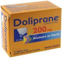 Doliprane 200 Mg Poudre Pour Solution Buvable En Sachet-dose B/12 à SAINT-PRYVÉ-SAINT-MESMIN