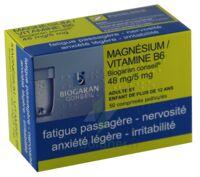 Magnesium/vitamine B6 Biogaran Conseil 48 Mg/5 Mg, Comprimé Pelliculé à SAINT-PRYVÉ-SAINT-MESMIN