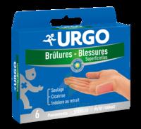 Urgo Brulures-blessures Petit Format X 6 à SAINT-PRYVÉ-SAINT-MESMIN