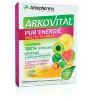 Arkovital Pur'energie Multivitamines Comprimés Dès 6 Ans B/30 à SAINT-PRYVÉ-SAINT-MESMIN