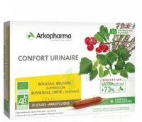 Arkofluide Bio Ultraextract Solution Buvable Confort Urinaire 20 Ampoules/10ml à SAINT-PRYVÉ-SAINT-MESMIN