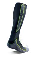 Recovery Chaussettes  Mixte Classe  Noir/vert Medium 43-46 à SAINT-PRYVÉ-SAINT-MESMIN