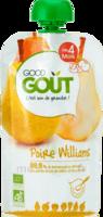 Good Goût Alimentation Infantile Poire Williams Gourde/120g à SAINT-PRYVÉ-SAINT-MESMIN