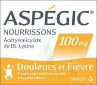 Aspegic Nourrissons 100 Mg, Poudre Pour Solution Buvable En Sachet-dose à SAINT-PRYVÉ-SAINT-MESMIN