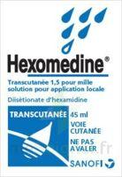 Hexomedine Transcutanee 1,5 Pour Mille, Solution Pour Application Locale à SAINT-PRYVÉ-SAINT-MESMIN