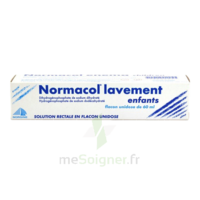 Normacol Lavement Enfants, Solution Rectale, Récipient Unidose à SAINT-PRYVÉ-SAINT-MESMIN