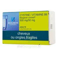 Cystine/vitamine B6 Biogaran Conseil 500 Mg/50 Mg Cpr Pell Plq/120 à SAINT-PRYVÉ-SAINT-MESMIN