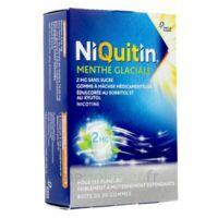 Niquitin 2 Mg Gom à Mâcher Médic Menthe Glaciale Sans Sucre Plq Pvc/pvdc/alu/30 à SAINT-PRYVÉ-SAINT-MESMIN