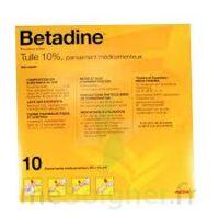 Betadine Tulle 10 % Pans Méd 10x10cm 10sach/1 à SAINT-PRYVÉ-SAINT-MESMIN