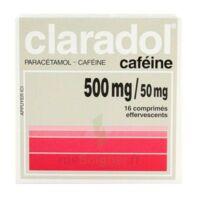 Claradol Cafeine 500 Mg/50 Mg, Comprimé Effervescent à SAINT-PRYVÉ-SAINT-MESMIN