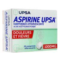 Aspirine Upsa Tamponnee Effervescente 1000 Mg, Comprimé Effervescent à SAINT-PRYVÉ-SAINT-MESMIN