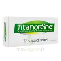 Titanoreine Suppositoires B/12 à SAINT-PRYVÉ-SAINT-MESMIN