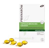 Aromaforce Caps Bronches Bio B/30