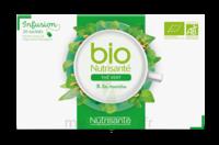 Nutrisanté Infusions Bio Thé Vert Menthe 20 Sachets à SAINT-PRYVÉ-SAINT-MESMIN