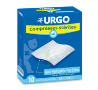 Urgo Compresse Stérile 7,5x7,5cm 10 Sachets/2 à SAINT-PRYVÉ-SAINT-MESMIN