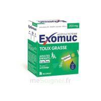 Exomuc 200 Mg, Granulés Pour Usage Oral En Sachet 15 Sachets/2g à SAINT-PRYVÉ-SAINT-MESMIN