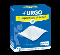 Urgo Compresse Stérile Non Tissée 10x10cm 10 Sachets/2 à SAINT-PRYVÉ-SAINT-MESMIN